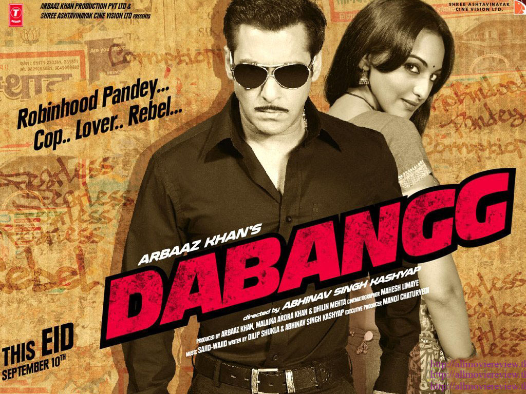 Dabangg: Coarse fare