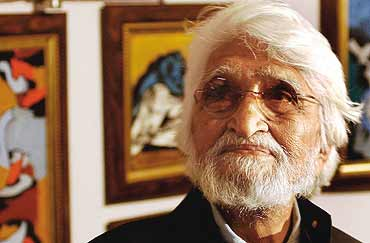 M. F. HUSSAIN: The Painter Who Died Elsewhere