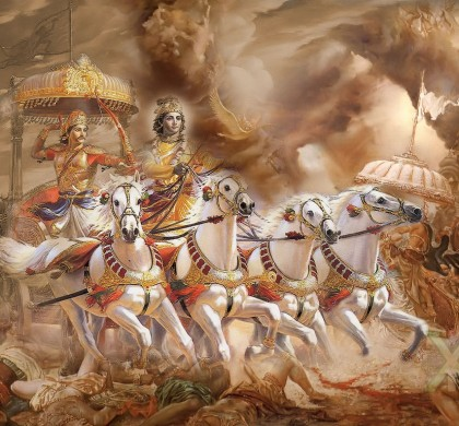 Lord Krishna and the Amorality of  Wartime Tactical Decisions