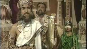 Virendra Razdan as Vidur in BR Chopra's Mahabharat