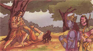 Lord Krishna and Jarasandha: Self-preservation and War