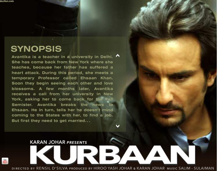 KURBAAN: Unapologetic, glossless take on terrorism